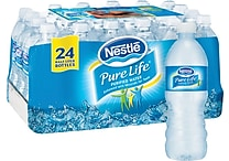 Nestlé® Pure Life® Bottled Purified Water, 16.9 oz. Bottles, 24/Case