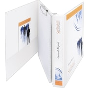 1-1/2 Avery® Durable View Portfolio Binder with Clipboard and EZ-Turn Ring, White