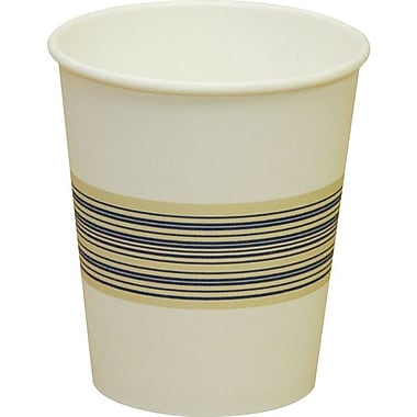 Boardwalk Paper Hot Cup, 10 oz., Blue/Tan, 1000/Carton