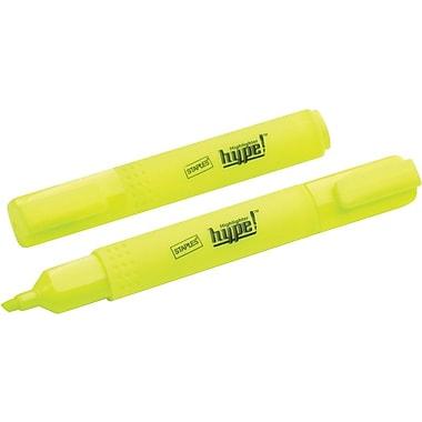 Staples® - Surligneurs de poche Hype! jaunes, paq./6
