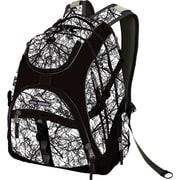 High Sierra Access Backpack, White/Black Trees