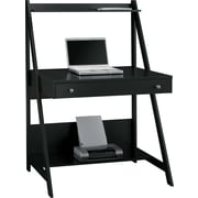 Bush Furniture Alamosa Ladder Desk, Classic Black