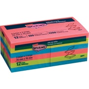 "Staples® Stickies Brights Pop Up Notes, 3"" x 3"""