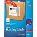 Avery 5265 White Laser Full Sheet  Labels, with TrueBlock,  8-1/2in. x 11in., 25/Box