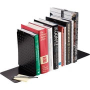 "SteelMaster® Euro Style 8"" Bookends, Black"