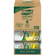 Marcal® 100% Recycled U-Size-It® Paper Towel Rolls, 2-Ply, 12 Rolls/Case