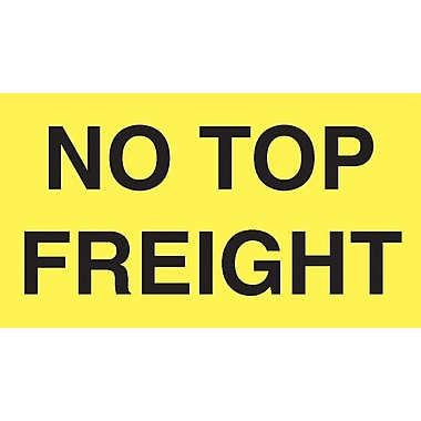 Staples® in.No Top Freightin. Shipping Label, 3in. x 5in., 500/Roll