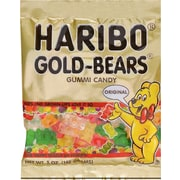 Haribo® Gummy Bears, 5 oz. Bags, 12 Bags/Box