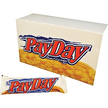 PayDay® Candy Bar, 24 Bars/Box