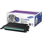 Samsung Black Toner Cartridge (CLP-K660B), High-Yield