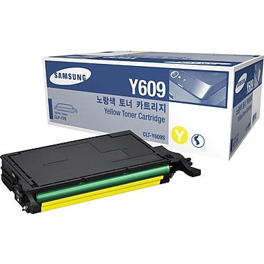 Samsung Yellow Toner Cartridge (CLT-Y609S)