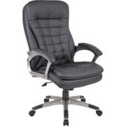 Boss® Caressoft™ Executive High-Back Chair, Black