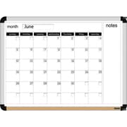 "The Board Dudes™ Dry-Erase Board Perpetual Calendar, 23"" x 17"""