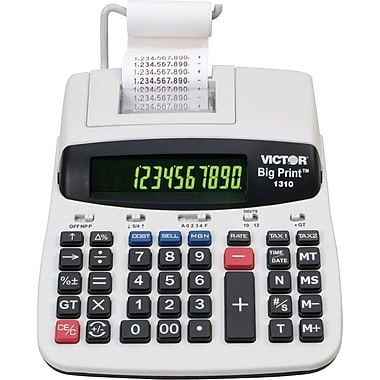 Victor® 1310 Big Print Printing Calculator