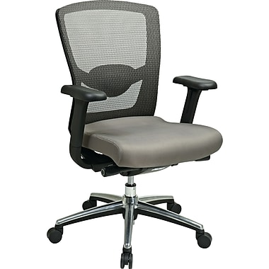 Office Star™ ProGrid® Mesh Back Managers Chair, Gray