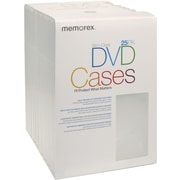 Memorex™ DVD Slim Cases, 25/Pack
