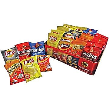 Frito Lay Classic Variety Mix 60 Pack