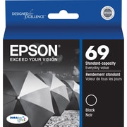 Epson® 69 (T069120) Black Ink Cartridge