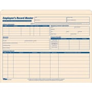 "Tops Employee Record Jacket, 1"" Expansion, 9 1/2"" x 11 3/4"", Manila, 15/Pk"