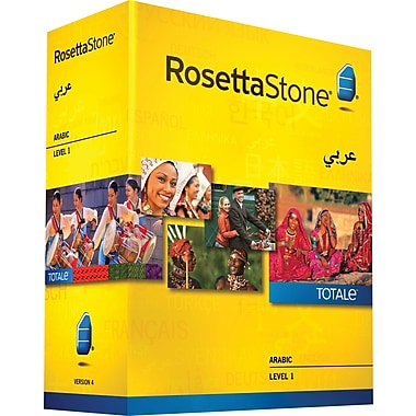 Rosetta Stone® Arabic v4 TOTALe™ - Level 1 [Boxed]