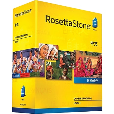 Rosetta Stone® Chinese (Mandarin) v4 TOTALe™ - Level 1 [Boxed]