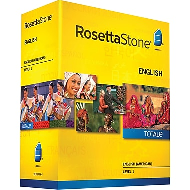 Rosetta Stone® English (American) v4 TOTALe™ - Level 1 [Boxed]