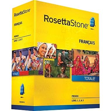 Rosetta Stone® French v4 TOTALe™ - Level 1, 2 & 3 Set [Boxed]