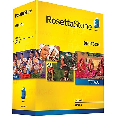 Rosetta Stone® German v4 TOTALe™ - Level 1 [Boxed]