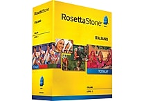 Rosetta Stone® Italian v4 TOTALe™ - Level 1 [Boxed]