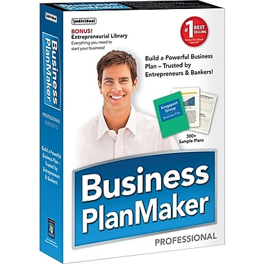 Logiciel de rédaction de plan d'affaires Business PlanMaker Professional, version 12, anglais