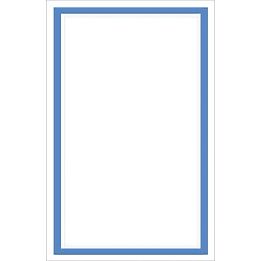Blue Border Invitation Kit