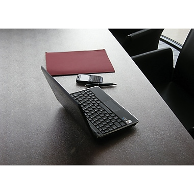 Desktex® Anti-Slip Polycarbonate Desk Mat, Clear, 35in. X 71in.