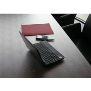 Desktex® Anti-Slip Polycarbonate Desk Mat, Clear, 35 X 71