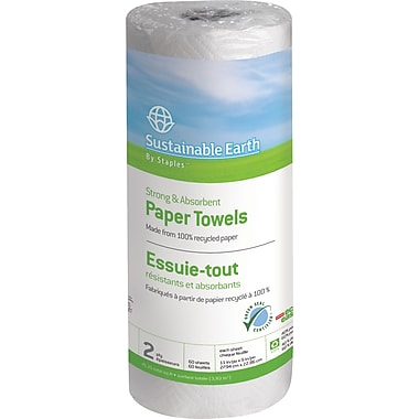 Sustainable Earth by Staples®  Perforated Paper Towel Rolls