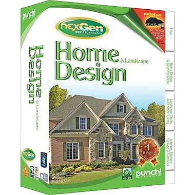 Punch home landscape design with nexgen technology v3 2011 pdf for Punch home design