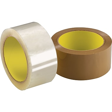 3M - Ruban Scotch 373 Tape, 2 po x 55 vg (48 mm x 50 m), 2,5 mil, brun clair