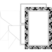 Black & White Damask Invitation Kit