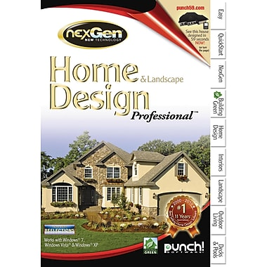 Punch! Home & Landscape Design Professional with nexGen Technology v2 [Boxed]