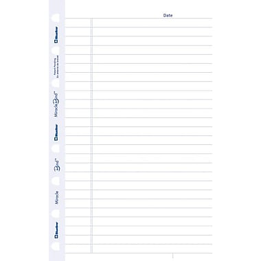 Blueline® MiracleBind Refills, Ruled Sheets