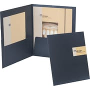 Oxford Your Style™ Custom Card Folio, Black, 4/Pack