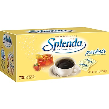 Splenda® Sweetener Packets, 700/Box