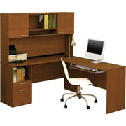 Bestar Flame Workstation, Cognac Cherry
