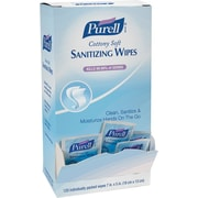 GOJO® PURELL® Cottony Soft Sanitizing Wipes, 120 Wipes/Box