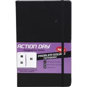 Action Day® Problem Solving Notebook, Black