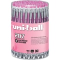 uni-ball® 207™ Pink Ribbon Retractable Gel-Ink Pens, Medium Point, Black, 36/Pack