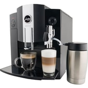 Jura IMPRESSA C9 One Touch Automatic Coffee Center, Black/Silver