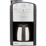 Capresso CoffeeTEAM TS 10-Cup Digital Coffee Maker, Black/Silver