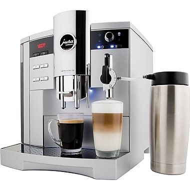 Jura IMPRESSA S9 One Touch Automatic Coffee Center, Platinum