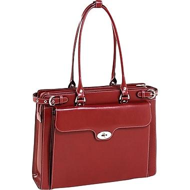 McKlein USA Winnetka  Leather Ladies' Briefcase, 15in.