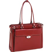 McKlein USA Winnetka  Leather Ladies' Briefcase, 15